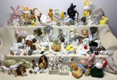 Large collection of rabbits - 145 items