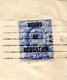 Great Britain Officials 1904 - Board of Education Overprint - Stanley Gibbons O85 on Cover