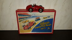 Schuco, Germany - Length 14 cm - Tin Grand Prix Racer 1075 with clockwork motor