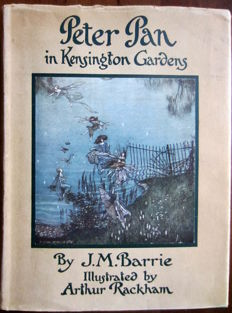 J.M. Barrie - Peter Pan in Kensington Gardens. Illustrated by Arthur Rackham - ca. 1920