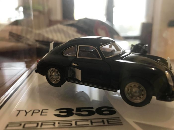 Bosica - Scale 1/43 - Porsche 356 - Black - Limited Edition 16/20
