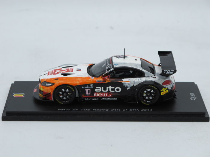 Spark - Scale 1/43 - BMW Z4 TDS Racing - 24H of Spa 2014 - Limited Edition