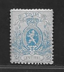 Belgium 1866/1867 - Small Lion - OBP 24A