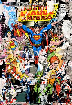 Mr Brainwash - The Heroes (Justice League)