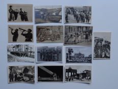 Lot consisting of World War 2 cards - Set of 13 postcards