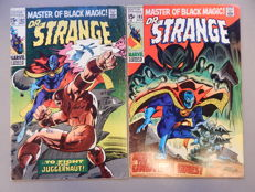 Marvel Comics - Doctor Strange #182 + # 183 - 2x sc - (1969)
