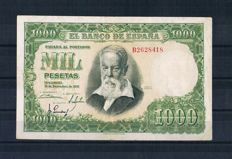 Spain - Collection of 33 different banknotes