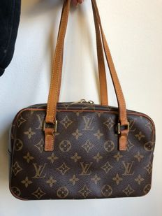 Louis Vuitton - Cite MM Monogram Canvas Schultertasche - Vintage