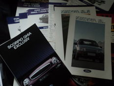 47 Ford catalogues and brochures and 35 original work photos, 80s/90s