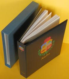 Aruba 1986/2004 - Complete collection in Davo LX album with dust sleeve