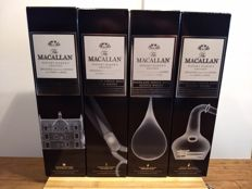 4 bottles - The Macallan Whisky Maker's Edition X-Ray