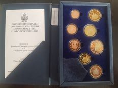 San Marino - 2013 - Case with Euro Coins - 8 Values