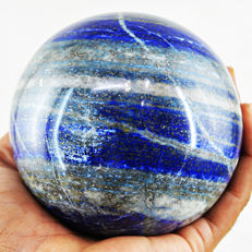 "Large Blue lapis Lazuli  ""healing ball"" - 102 mm - 1295 gm"
