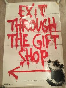 Banksy - Exit through the Gift Shop - 2010