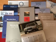 Mercedes-Benz - brochures -   15 items - 1975 / 1991