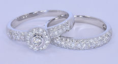 Two, Diamonds designer rings NO reserve price!
