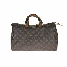 Louis Vuitton - Monogram Speedy 35 Handbag