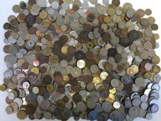 World - Batch of various coins (5 kg)