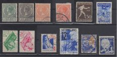 Netherlands 1923/1934 - Collection Yvert et Tellier n° 133 to 267