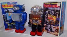 Horikawa, Japan - Piston Robot - 70s/80s + Engine Robot - 70s/80s