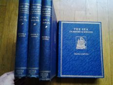 Frank C. Bowen - The Sea Its History and Romance Four volumes – Ca. 1925 / 1926