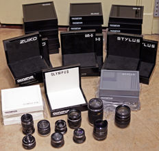 Large collection of Olympus Displays and Dummies