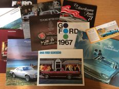 Brochures Ford USA - 11 items - 1966 / 1985