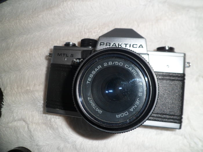 Praktica mtl zeiss jena mm f accessories catawiki
