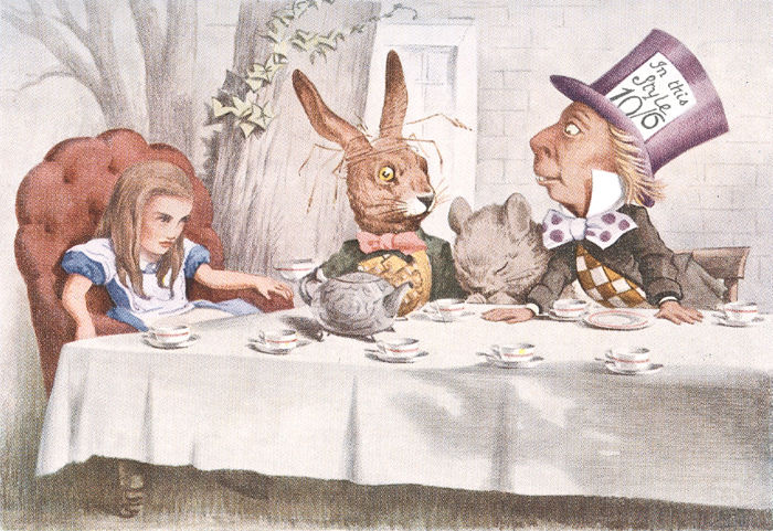 Lewis Carroll - Alice in Wonderland and Through the Looking-Glass - 1954