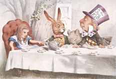 Lewis Carroll - Alice's Adventures in Wonderland and Through the Looking-Glass - 1954