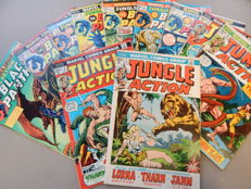 Marvel Comics - Jungle Action #1-10 + 15 - 11x sc - (1972-75)
