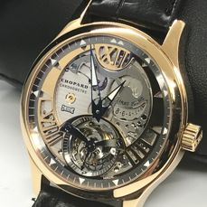 Chopard - L.U.C. Tourbillon Rose gold Men's watch - 161901-5002 Limited Edition 100 pcs - Heren - 2011-heden