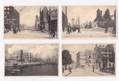 Rotterdam - In wartime-1940-1945-total 129x-photos/picture postcards and small format/large format cards