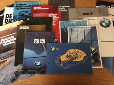 BMW - brochures -  20 items -  1953 / 1990