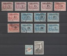 The Netherlands 1906/1951 - Postage due overprint and De Ruyter and Airmail Sea-Gull - NVPH P31/P43, P28 type III, LP12