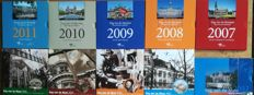 The Netherlands - Coin sets 2002 through to 2011 'Day of the Coin' including silver badge (10 pieces)