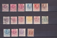 Spanish Colonies 1855–1930 - Collection of terrestrial and fiscal post