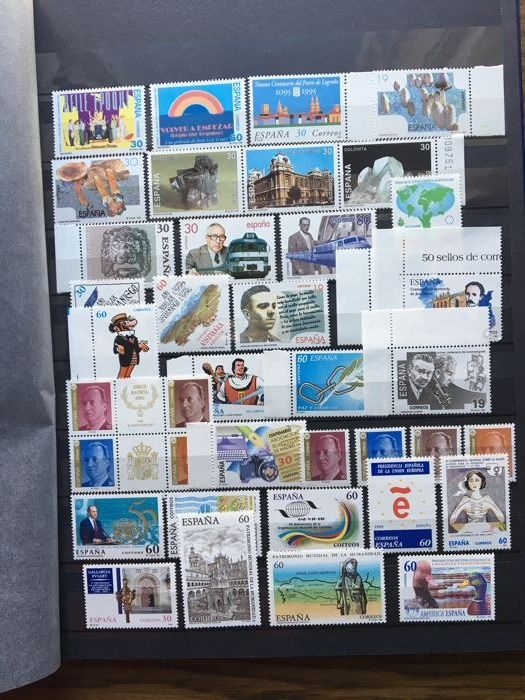 Spain 1995/2000 - Complete collection of stamps