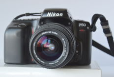 Nikon F 50 with Sigma zoom lens