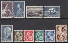 The Netherlands 1934-1935 - Complete year + NVPH 278