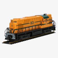 Atlas/Kato H0 - 7097 - Series RS-11 Diesel locomotive of the Maine Central Road