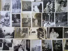 Nice lot of 100 vintage photos of women