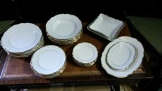 C. T. Altwasser, dinner service for six
