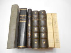 La Reine Marie-Antoinette (Reine de France) - Lot with 7 volumes - 1864 / 1940