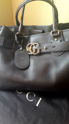 Gucci -  Large handbag with handles Handtas