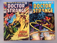 Marvel Comics - Doctor Strange #174 + # 175 - 2x sc - (1968)