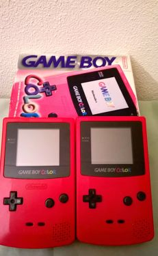 2 Nintendo Gameboy Color- one in original box