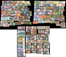 World - 150 World banknotes - All different
