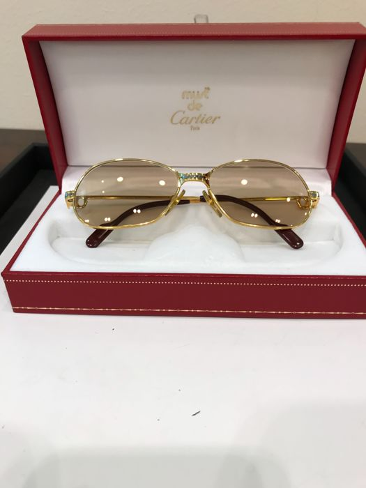 964c42219f Cartier - CARTIER PANTHERE VINTAGE Sunglasses - Vintage - Catawiki