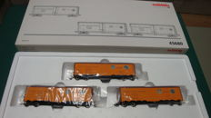 Märklin - 45680 - Wagonset Reefer with 3 cars Pacific Fruit Express of the Southern Pacific
